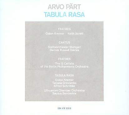 PART:TABULA RASA BY JARRETT,KEITH (CD)