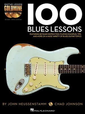 100 Blues Lessons By Johnson, Chad/ Heussenstamm, John